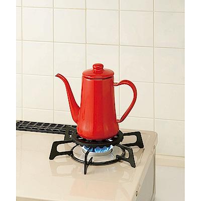 日本企畫 超耐熱鑄鐵瓦斯爐輔助架(專為小鍋具設計)
