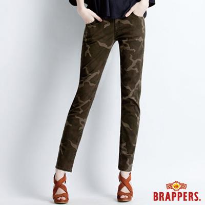 BRAPPERS 女款 新美尻系列-女用中腰迷彩九分褲-迷彩