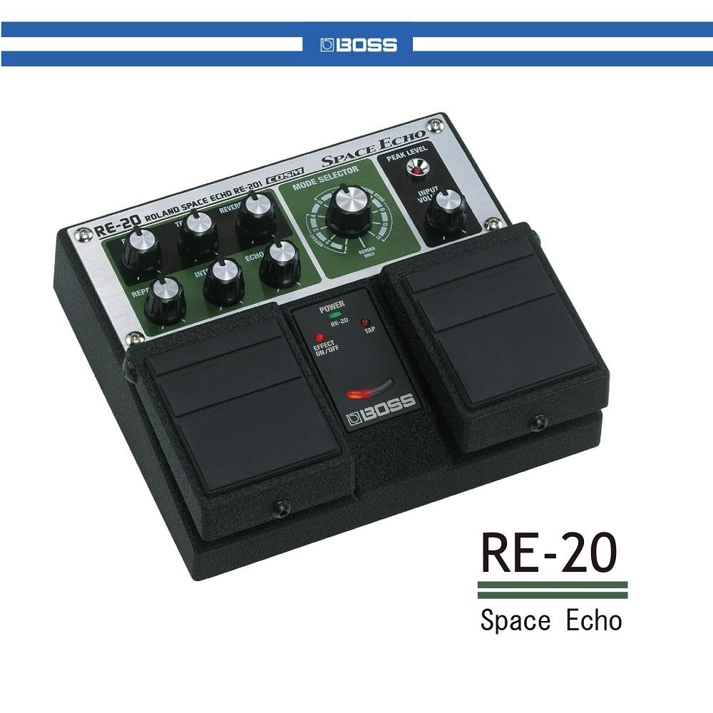 BOSS RE-20 空間回聲效果器