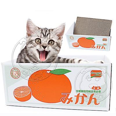DYY》日本磨爪貓窩紙箱貓抓板(多種款式)37*25*16cm