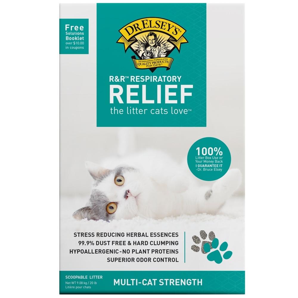 Dr.Elsey's貓艾歐|貓砂-敏感綠-RELIEF過敏專用-20LB