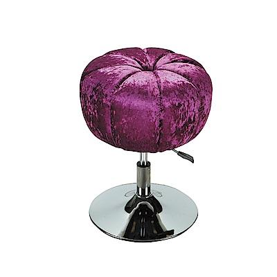 LOVE樂芙-紫色南瓜升降椅-寬46高60公分