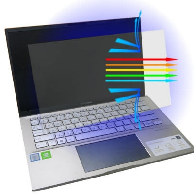 EZstick ASUS S432 S432FL 防藍光螢幕貼