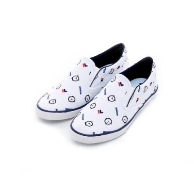 FILA WONNIE FRIENDS 女休閒鞋-白色 5-C604T-113
