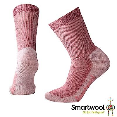 SmartWool 女中級減震型徒步中長襪  酒紅