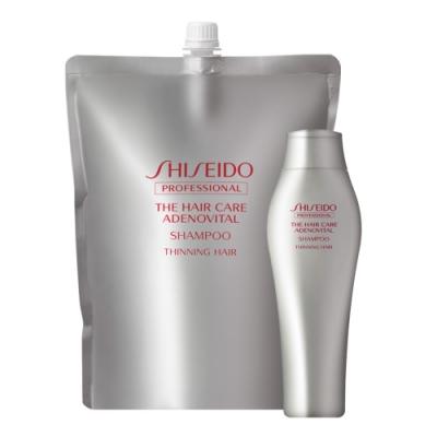 SHISEIDO資生堂 甦活養髮洗髮乳1800ml (補充包)+250ml