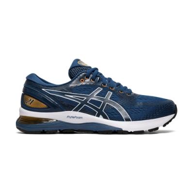 ASICS GEL-NIMBUS 21(4E) 男鞋 1011A168(藍)