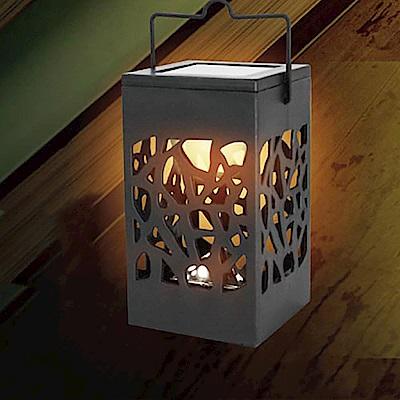 【KINYO】太陽能LED庭園燈-黃光(GL-6017)