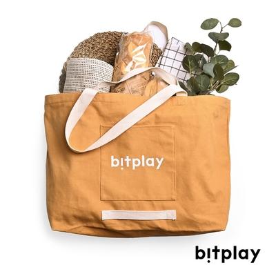 bitplay Oversize Tote Bag 超大容量托特包 ■卡其棕