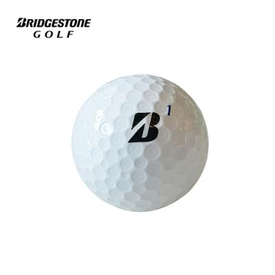 BRIDGESTONE 普利司通  TOUR B XS 老虎伍茲限量款三層高爾夫球  兩盒入