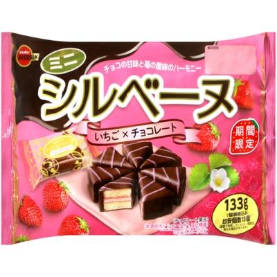 北日本 迷你三角蛋糕[草莓巧克力風味](133g)