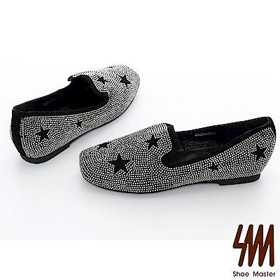 SM-方頭星星平底單鞋( 2 色)