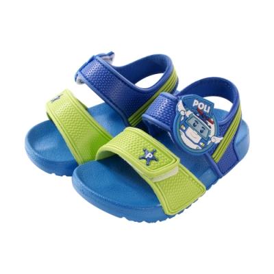 男童台灣製POLI正版波力款輕量美型涼鞋 sa01116 魔法Baby