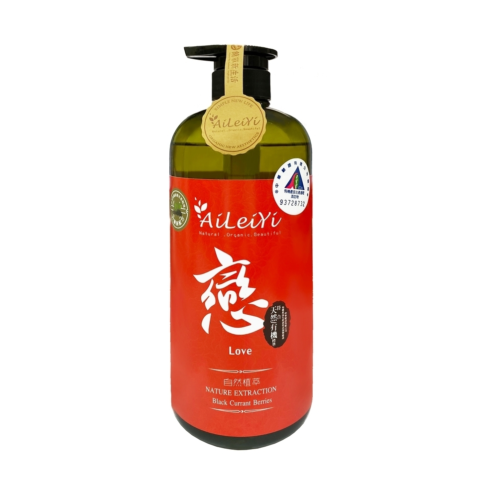 AiLeiYi洋甘菊修護洗髮精-戀/黑醋栗莓果1000ml