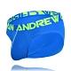 美國Andrew Christian Happy Brief 藍色三角內褲 product thumbnail 1
