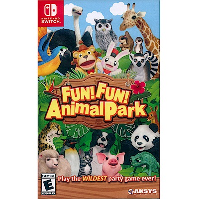 高高興興動物園  FUN! FUN! Animal - NS Switch 中英日文美版