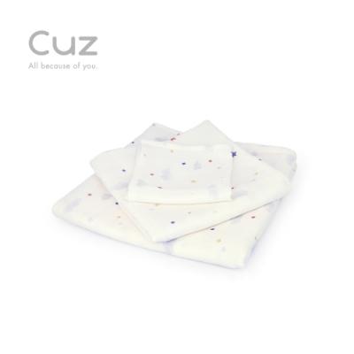 【Cuz】雲朵蓋被被(防皺紗布巾/方巾/嬰兒包巾)-90cm