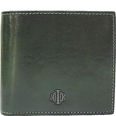 OBBI LAI 綠色牛皮短夾皮夾錢包