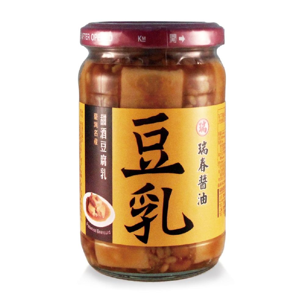 瑞春‧甜酒豆腐乳(380g/入,共6入)