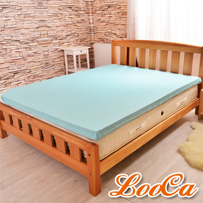 LooCa 日本大和涼感11cm釋壓記憶床墊 雙人5尺