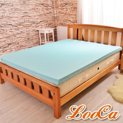LooCa 日本大和涼感11cm釋壓記憶床墊 加大6尺