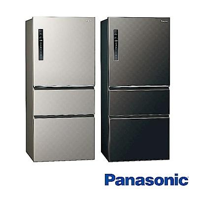 [無卡分期-12期]國際牌 610L 1級變頻3門電冰箱 NR-C610HV