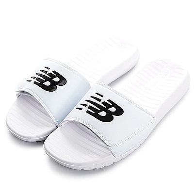 New Balance-男女拖鞋SD230WT-白