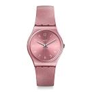 Swatch Bau 包浩斯系列手錶 SO PINK 耀光燦紅 -34mm