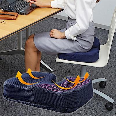3D塑型立體高密度減壓坐墊/椅墊 [限時下殺]