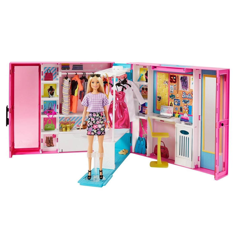 Barbie 芭比 - 芭比夢幻衣櫃