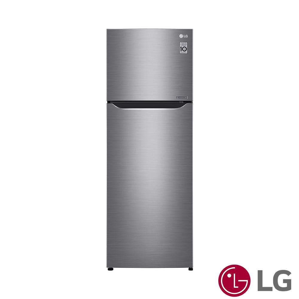 [限時優惠] LG樂金  315公升 Smart 直驅變頻冰箱(精緻銀) GN-L397SV