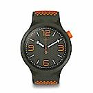 Swatch Big Bold 系列手錶 BBBEAUTY 橘色 - 47mm