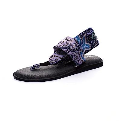 ROCKY BEAR 花漾瑜珈墊夾腳涼鞋-紫羅蘭(女)