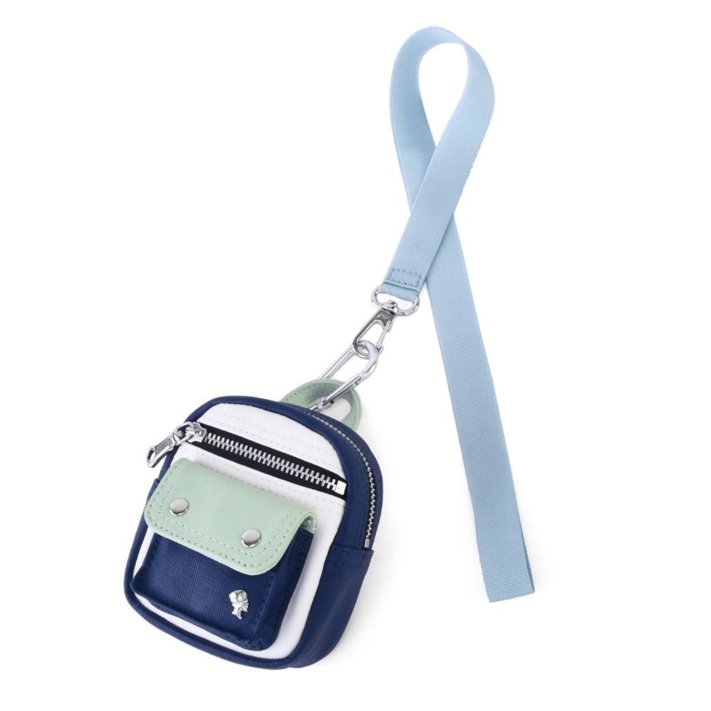PORTER - 迷你小包吊飾零錢包 - 海軍藍