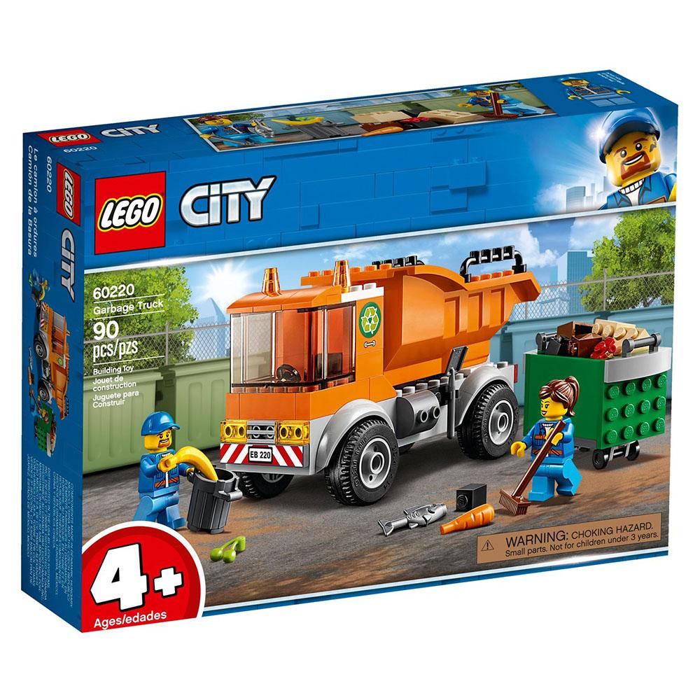 樂高LEGO 城市系列 - LT60220 垃圾車