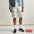 Levis 男款 牛仔短褲 511修身版型 大破壞 重磅 彈性布料