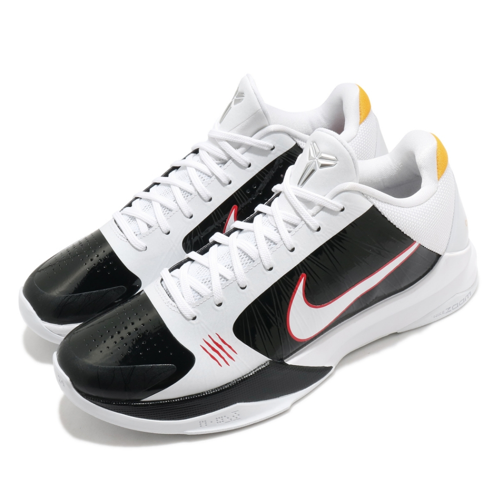 Nike 籃球鞋 Kobe V Protro 5代 男鞋 經典 Bruce Lee 李小龍 白 黑 CD4991101