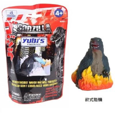 YUBI's 經典哥吉拉 Godzilla 造型軟膠指偶 抽抽包 (款式隨機)