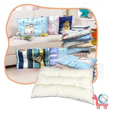 (買一送一)You Can Buy  SEK防蟎抗菌兒童天然乳膠枕(隨機附贈純棉枕套)