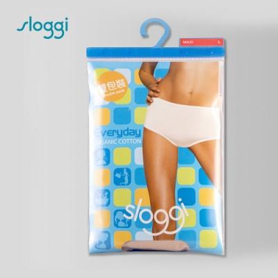 sloggi Everyday 有機棉高腰內褲兩件包 淺米色 C76-904 LZ