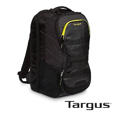 Targus Work+Play 健身運動後背包 (黑-黃/適用15.6吋筆電)