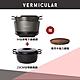【少量現貨到】Vermicular日本原裝IH琺瑯電子鑄鐵鍋(松露黑)+琺瑯鑄鐵鍋23CM(碳黑) product thumbnail 2