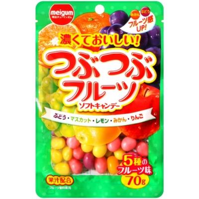 Meigum明治 水果風味脆皮糖(70g)