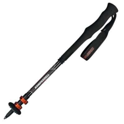 Komperdell 1752326-10 C3 CARBON PRO COMPACT PowerLock 3.0 碳纖強力鎖定泡棉長握把登山杖 120cm
