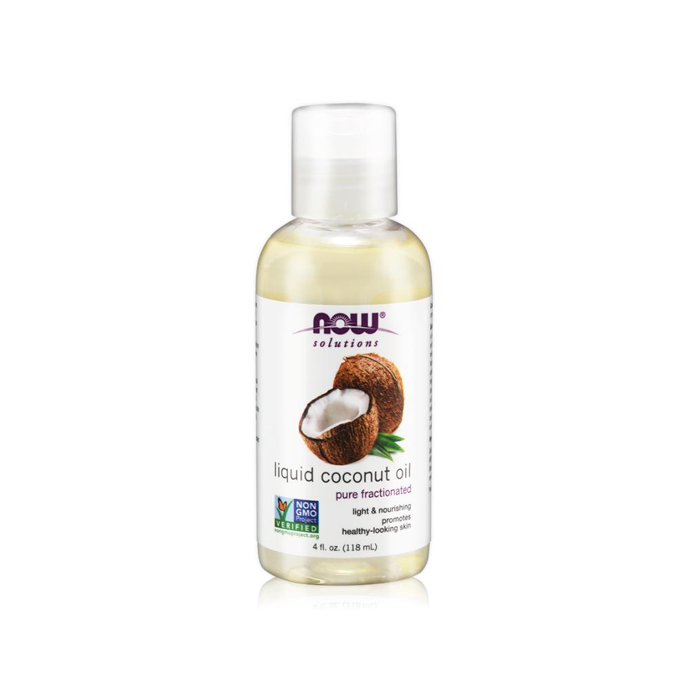 NOW 椰子基底油(4oz/118ml) Liquid Coconut Oil