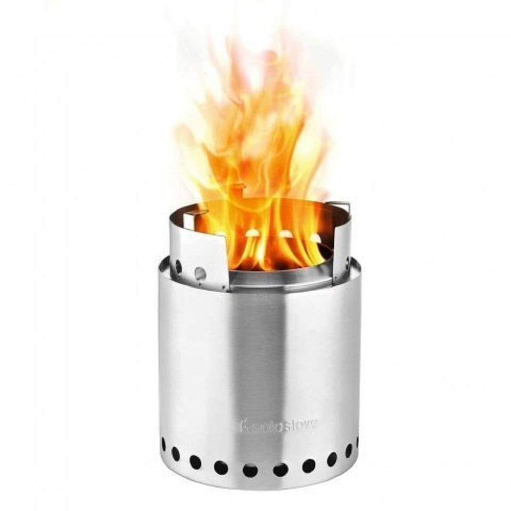 SOLO STOVE CAMPFIRE 不鏽鋼輕量火箭爐 大