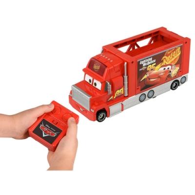 任選TOMICA CARS紅外線遙控收納貨車 DS13862 汽車總動員 多美小汽車