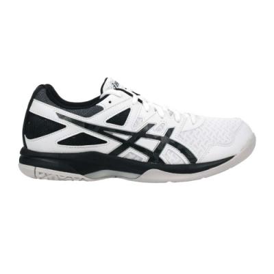 ASICS GEL-TASK 2 男排羽球鞋-排球 羽球 羽毛球 亞瑟士 1071A037-103 白黑