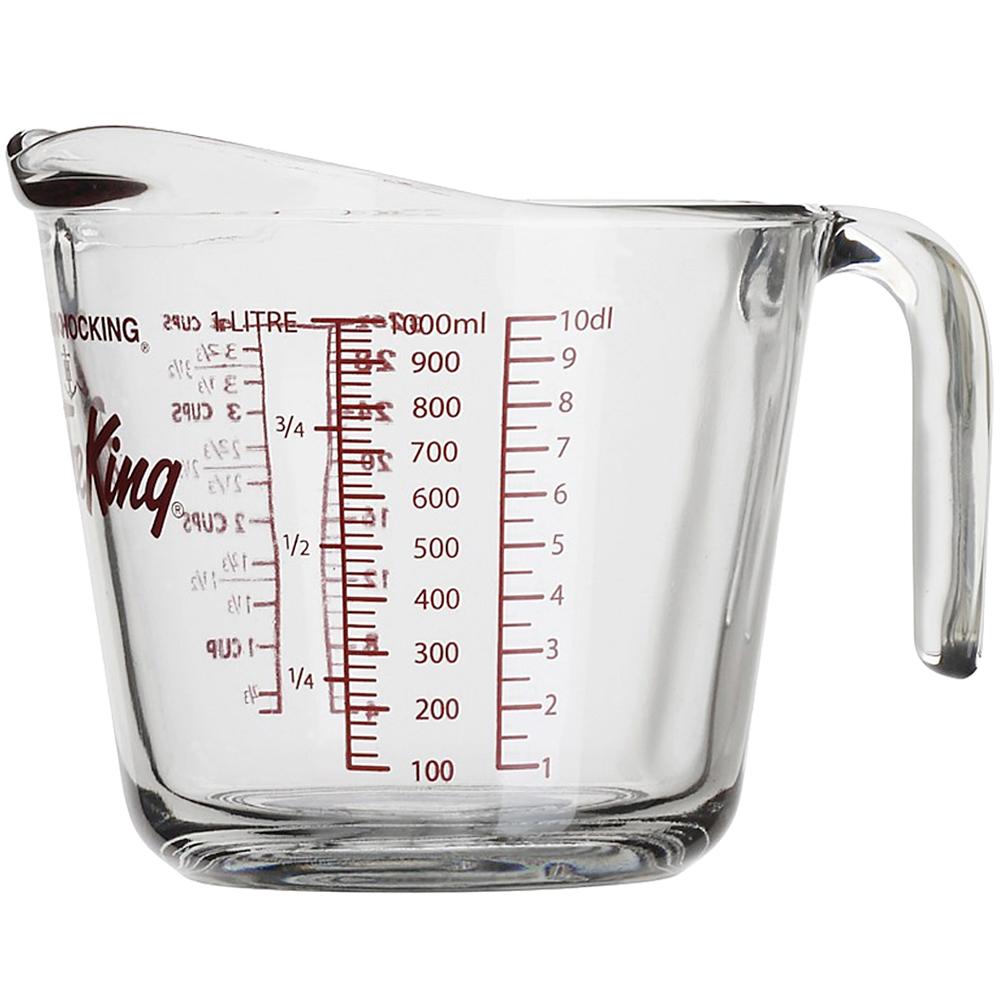 《FOXRUN》Anchor握柄耐熱玻璃量杯(1000ml)