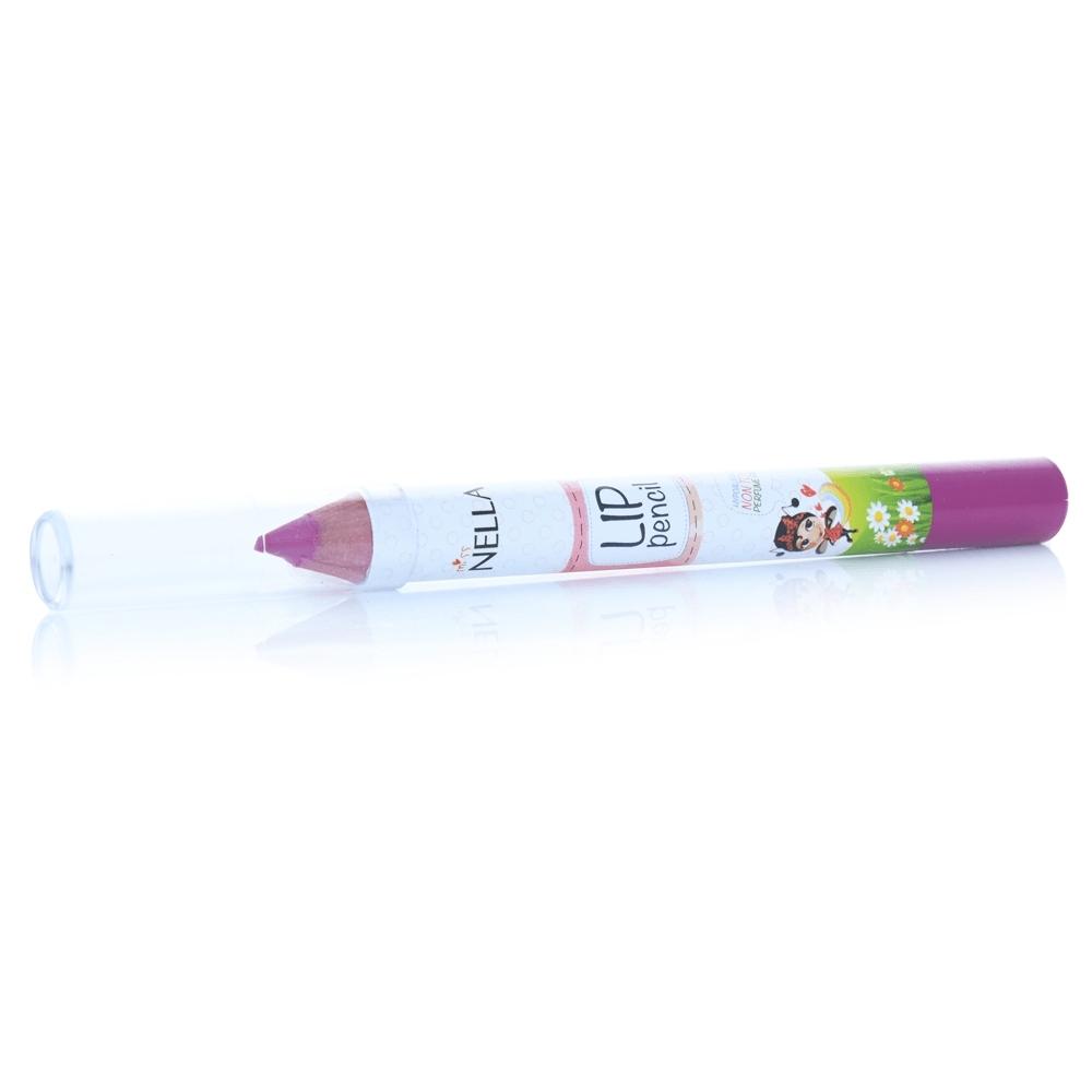英國 【MISS NELLA】兒童水性唇膏筆 玫瑰花園紫